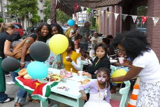 Organisatie Caribisch familie buurtfestival
